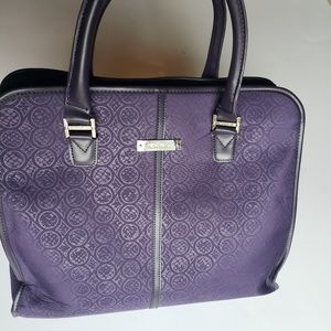 Nine West Tote Purple Bag